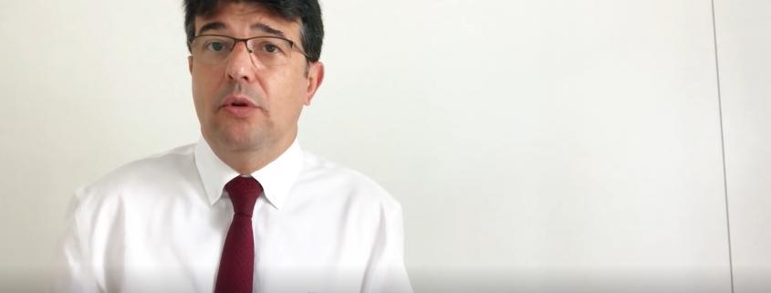 Jordi Altafaja, en un moment del vídeo