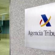 Placa de la Agencia Tributaria