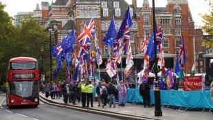 Manifestació sobre el Brexit