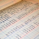 libro antiguo de contabilidad