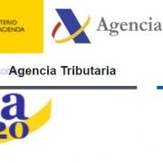 Logos de la campaña de la Renta y de la Agencia Tributaria