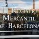 Porta d'accés al Registre Mercantil de Barcelona