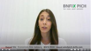 Raquel Edo, en una imatge del vídeo