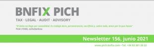 Portada de la newsletter de juny 2021 de pich bnfix