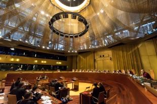 Una vista ante el Tribunal de Justicia de la Unión Europea (TJUE)